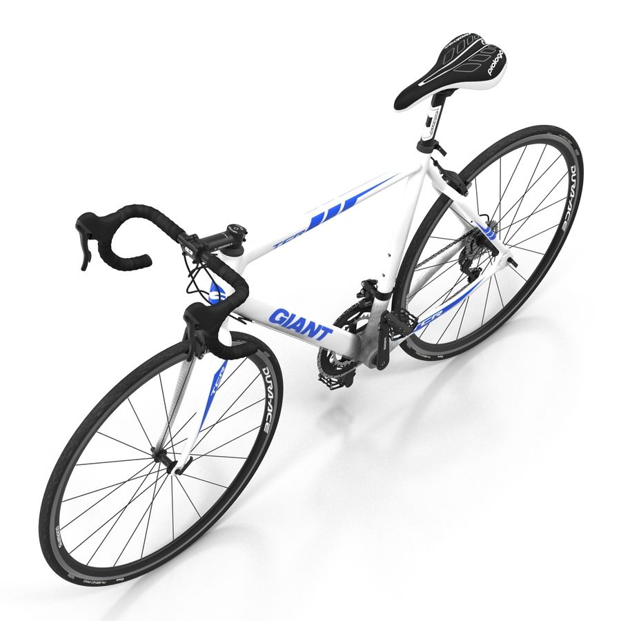 Road Bike Giant royalty-free 3d model - Preview no. 10