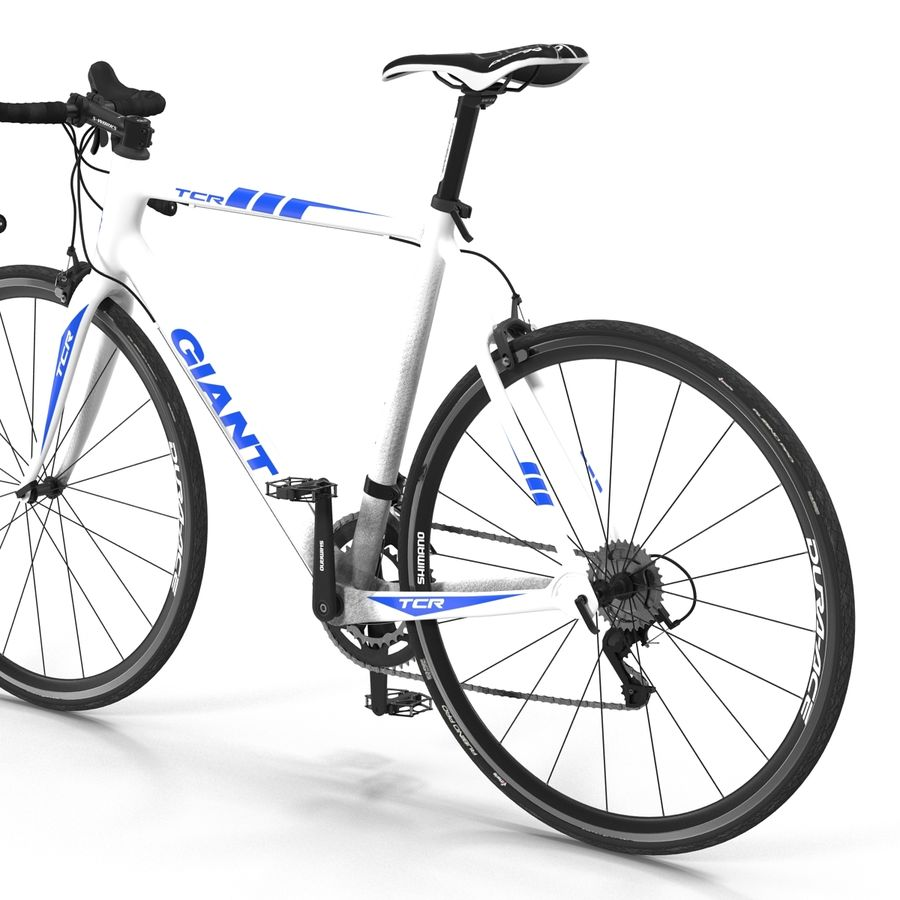 Road Bike Giant royalty-free 3d model - Preview no. 20