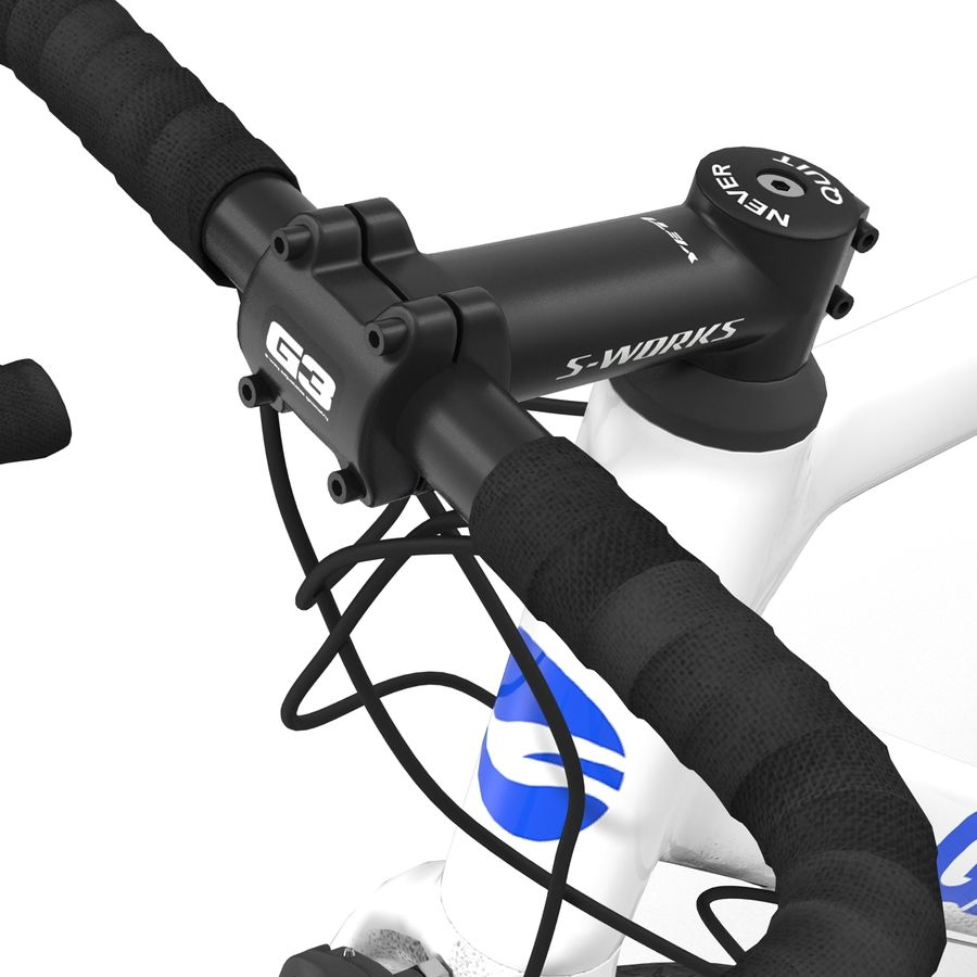 Road Bike Giant royalty-free 3d model - Preview no. 30
