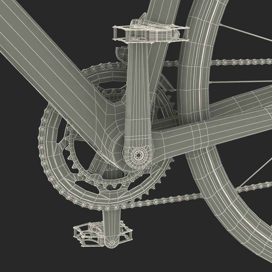 Road Bike Giant royalty-free 3d model - Preview no. 52