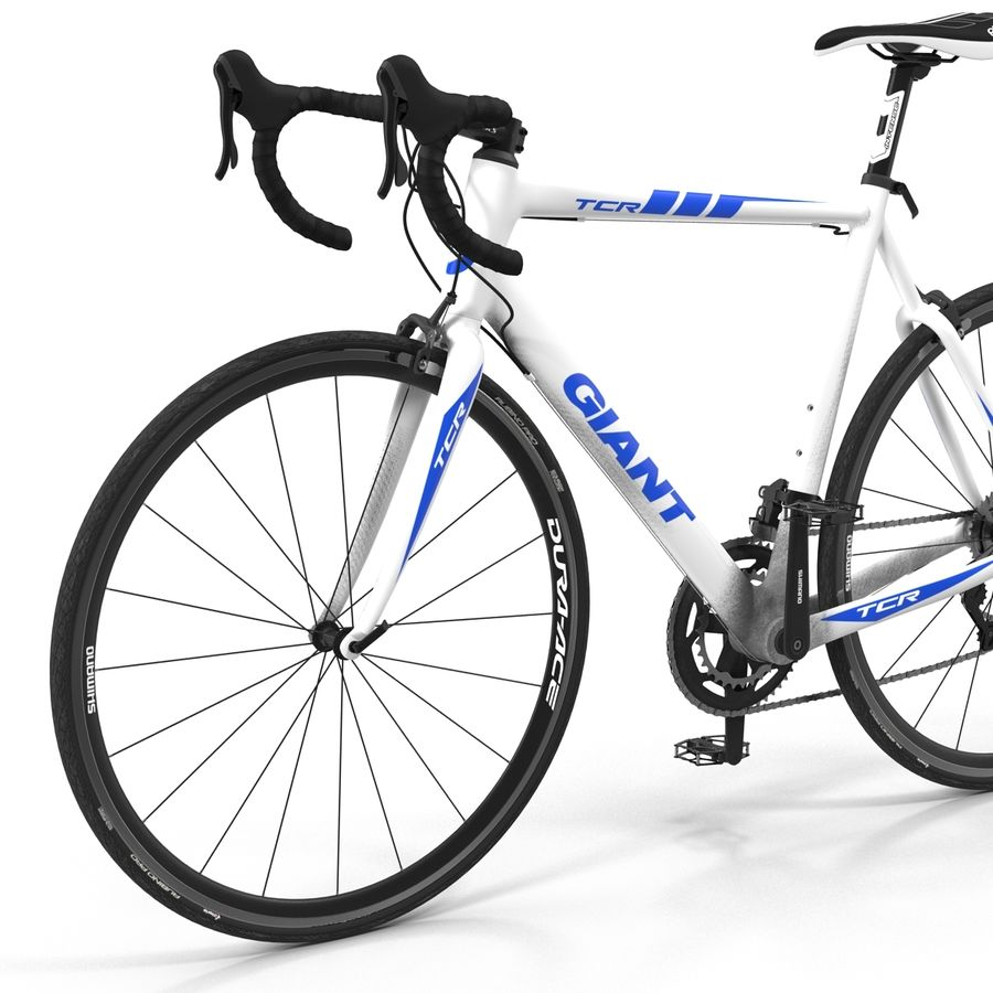 Road Bike Giant royalty-free 3d model - Preview no. 18