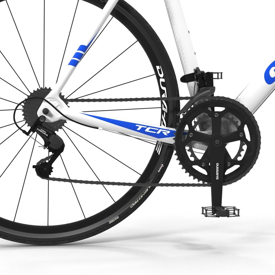 Road Bike Giant royalty-free 3d model - Preview no. 22