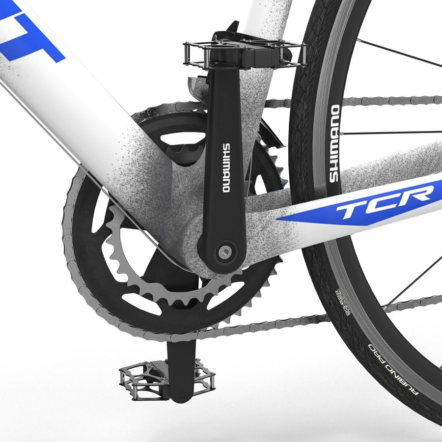 Road Bike Giant royalty-free 3d model - Preview no. 28