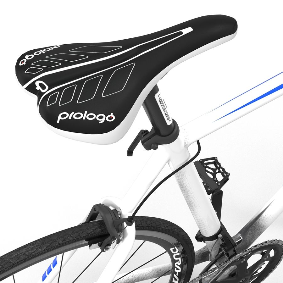 Road Bike Giant royalty-free 3d model - Preview no. 25