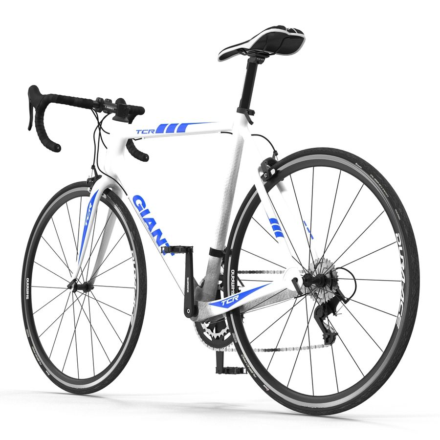 Road Bike Giant royalty-free 3d model - Preview no. 15