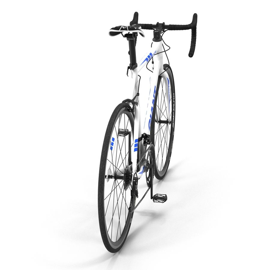 Road Bike Giant royalty-free 3d model - Preview no. 9