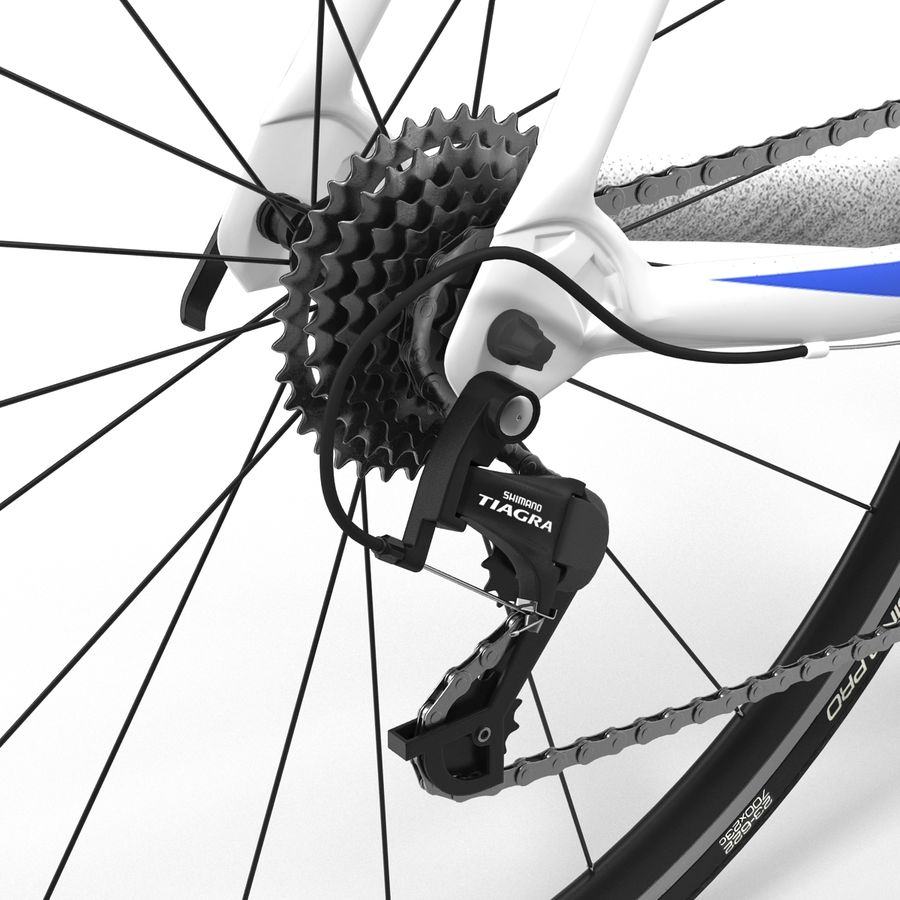 Road Bike Giant royalty-free 3d model - Preview no. 29