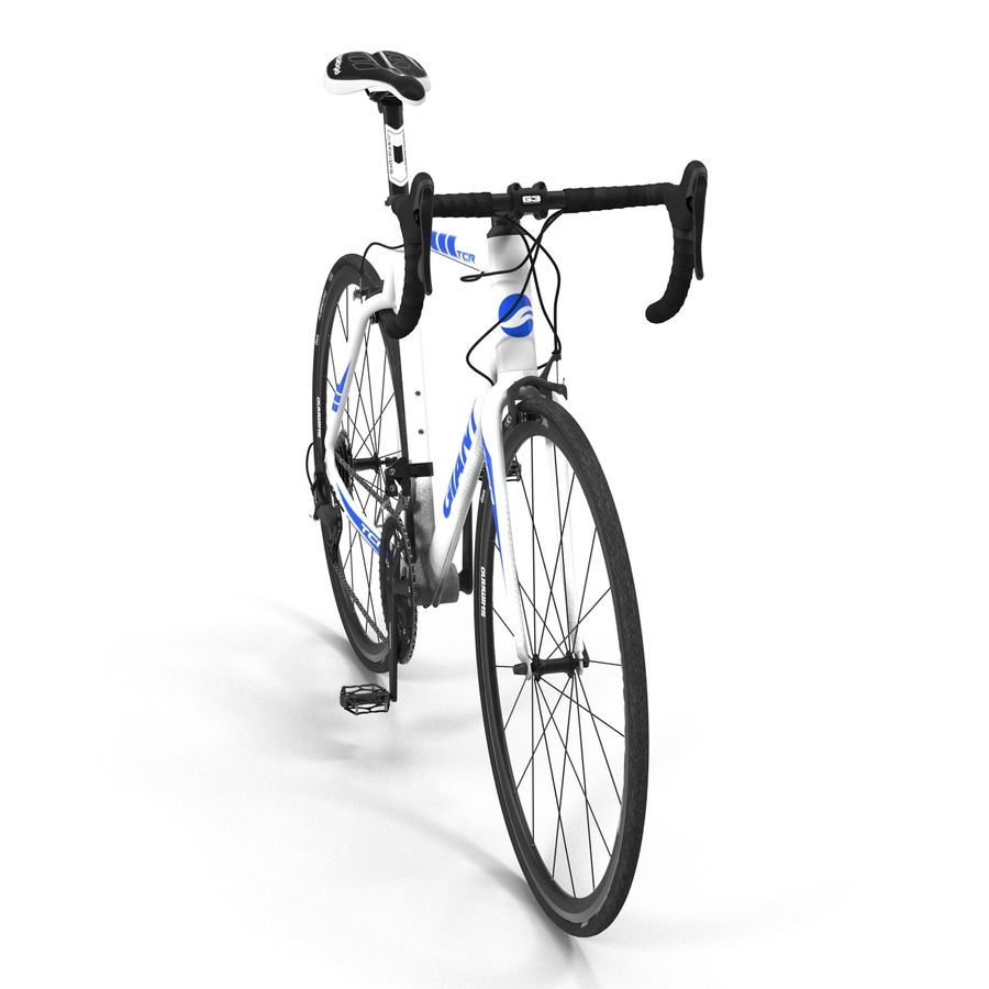 Road Bike Giant royalty-free 3d model - Preview no. 8