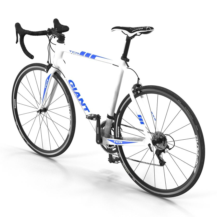 Road Bike Giant royalty-free 3d model - Preview no. 5