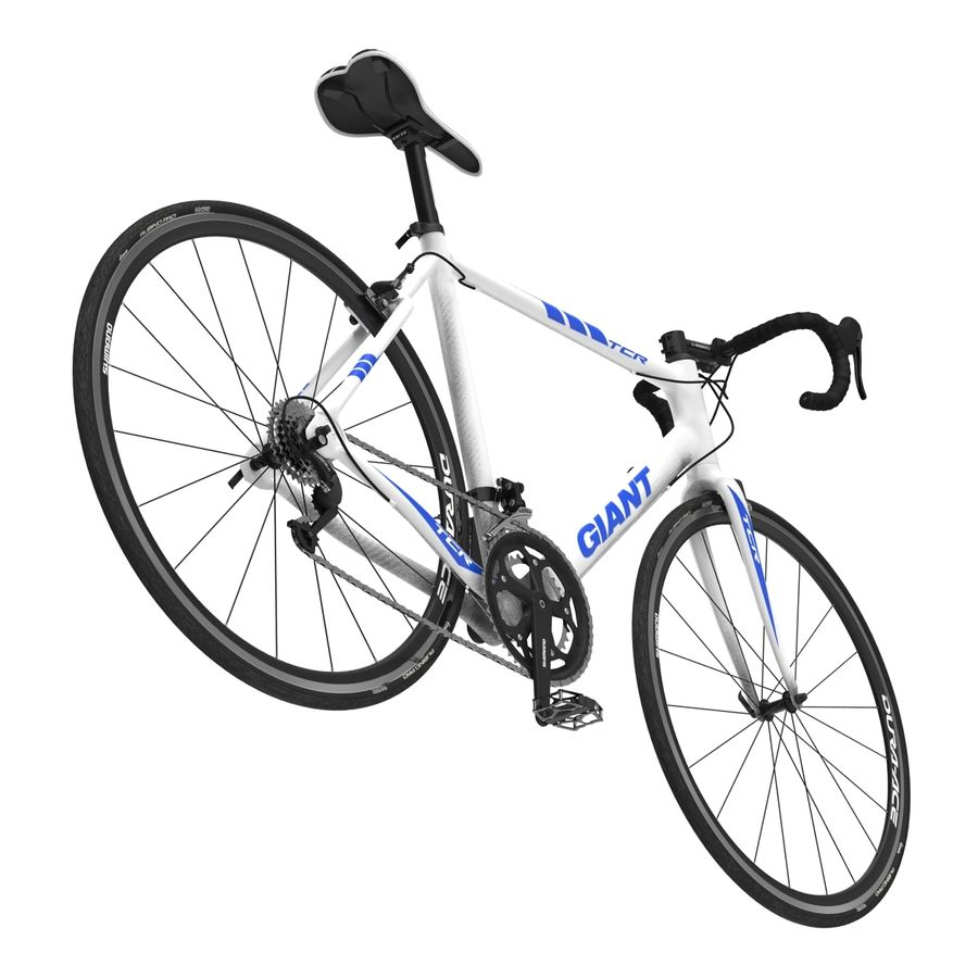 Road Bike Giant royalty-free 3d model - Preview no. 17