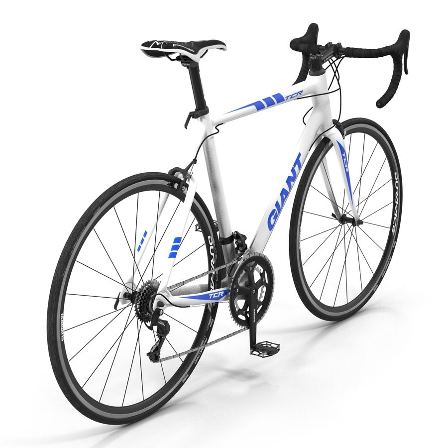 Road Bike Giant royalty-free 3d model - Preview no. 6