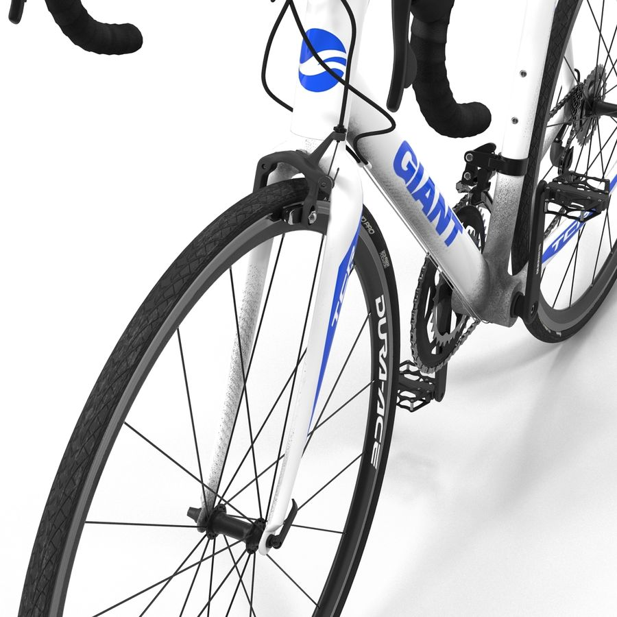 Road Bike Giant royalty-free 3d model - Preview no. 23
