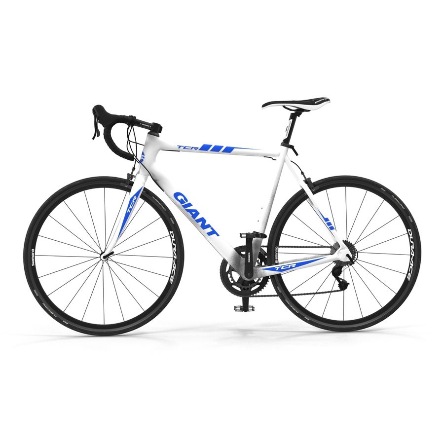 Road Bike Giant royalty-free 3d model - Preview no. 7