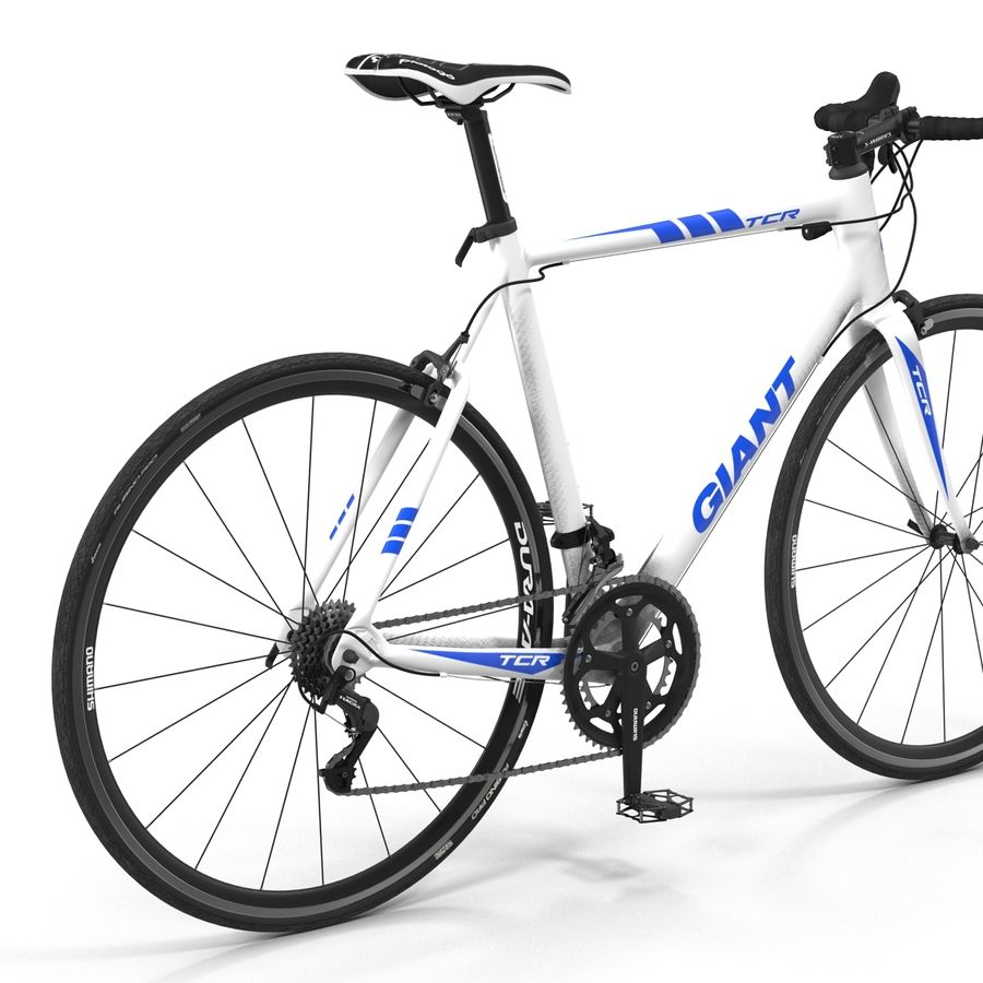 Road Bike Giant royalty-free 3d model - Preview no. 19