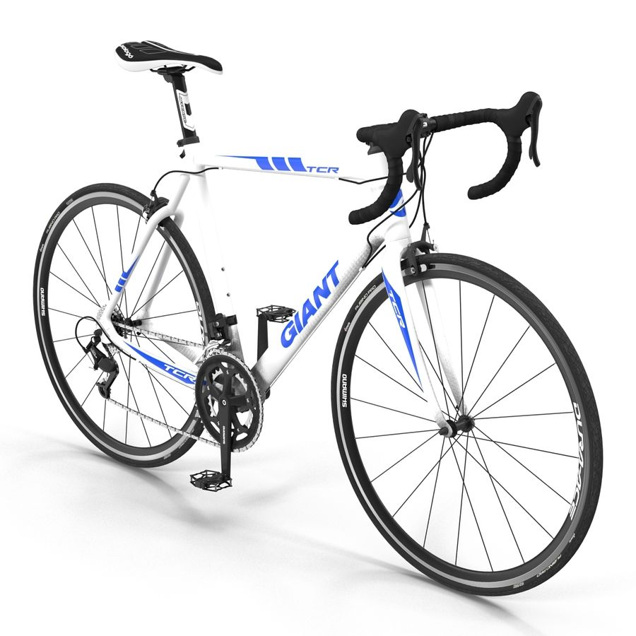 Road Bike Giant royalty-free 3d model - Preview no. 3