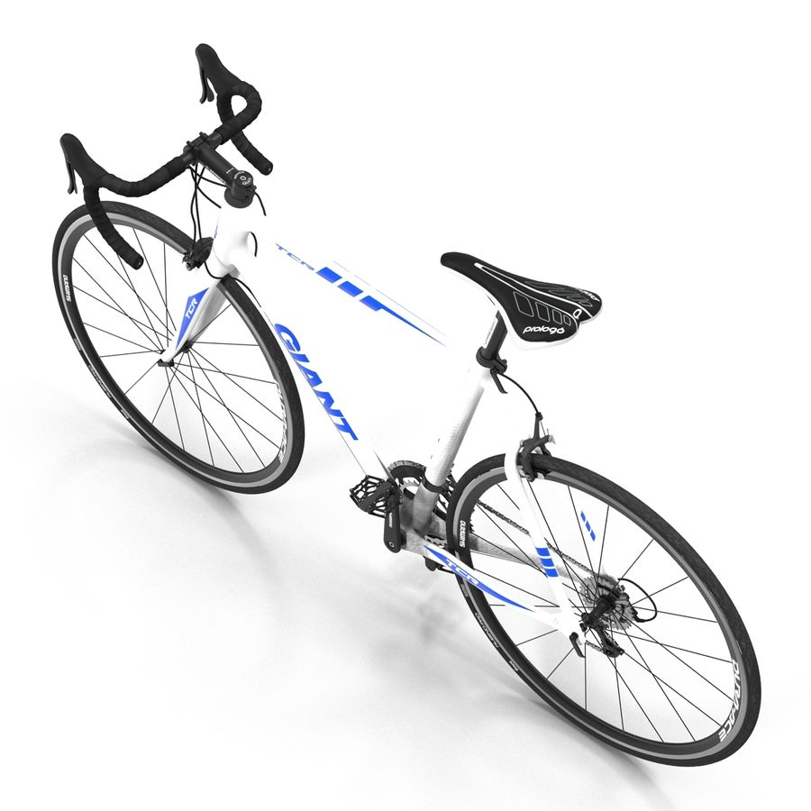 Road Bike Giant royalty-free 3d model - Preview no. 11