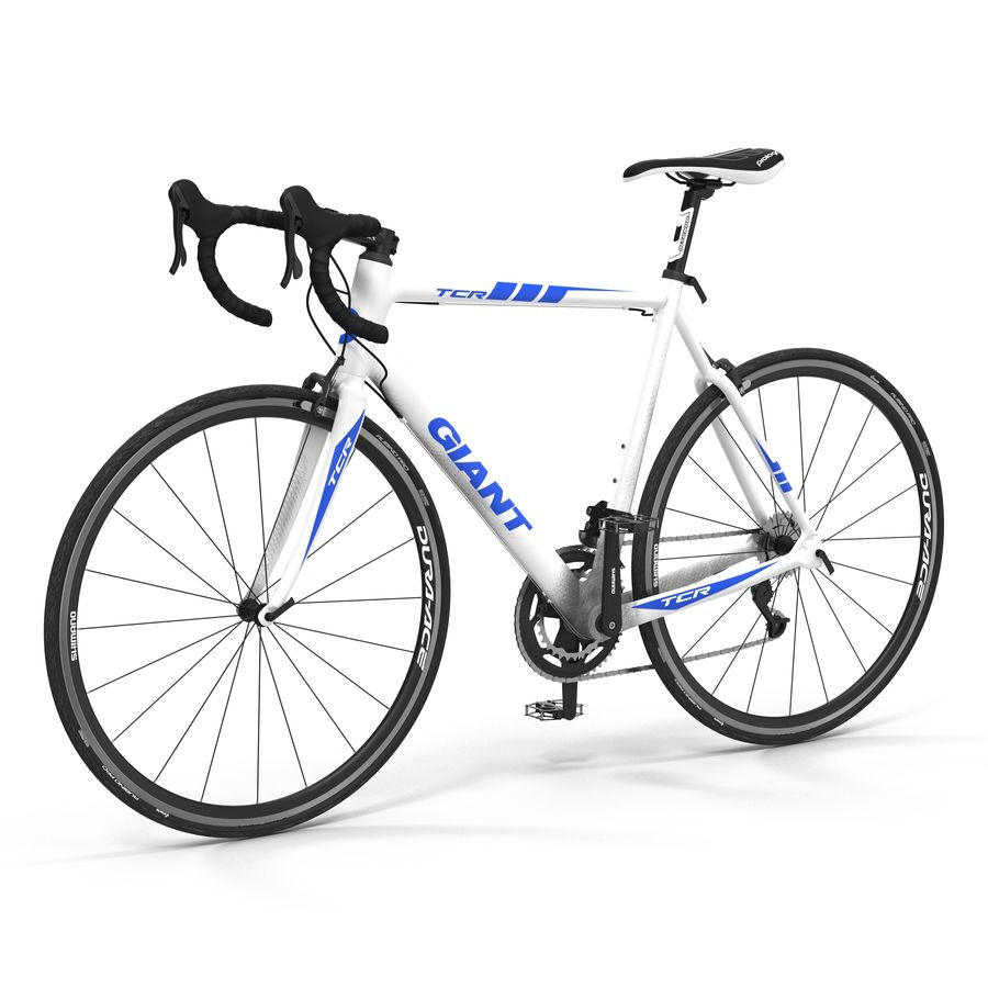 Road Bike Giant royalty-free 3d model - Preview no. 2