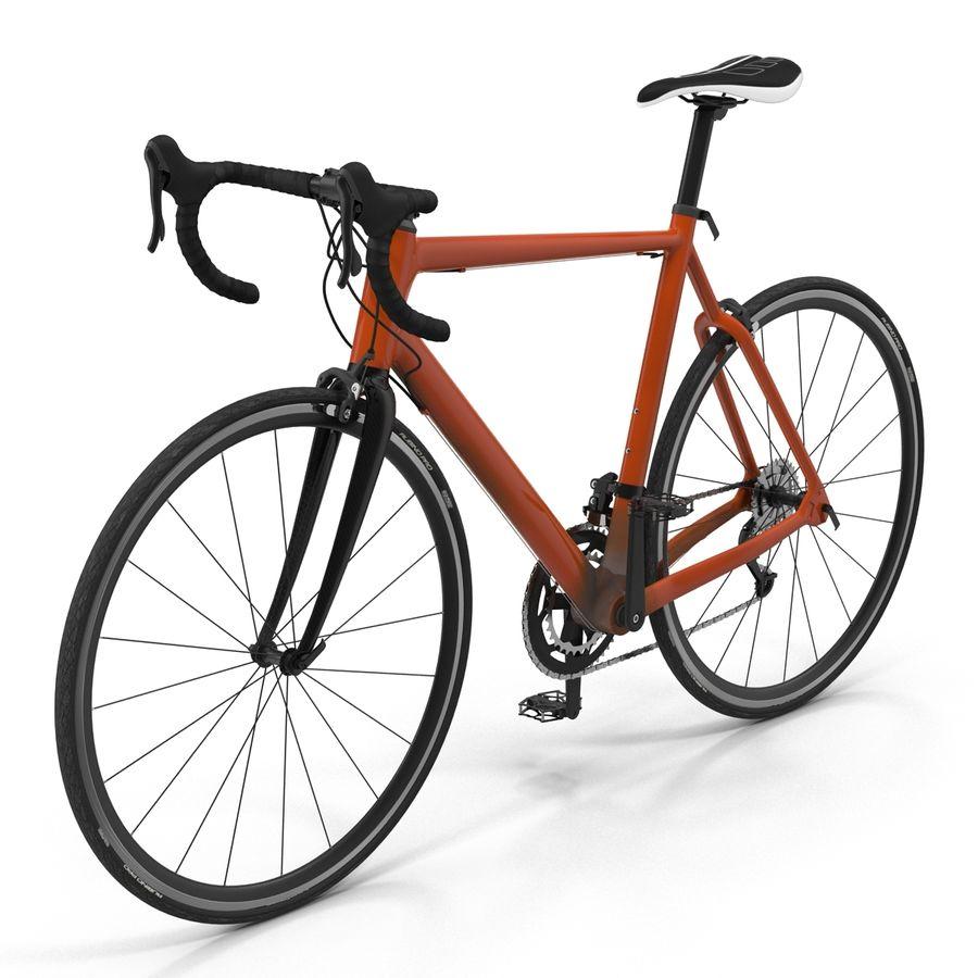 Road Bike Generic royalty-free 3d model - Preview no. 7