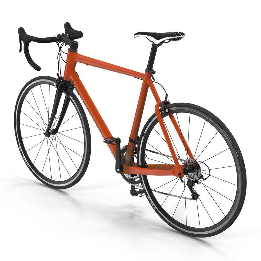 Road Bike Generic royalty-free 3d model - Preview no. 8