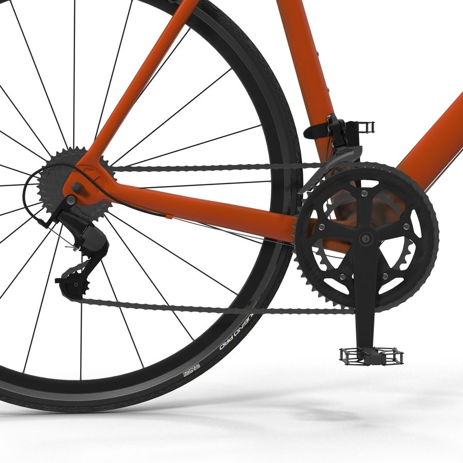 Road Bike Generic royalty-free 3d model - Preview no. 22