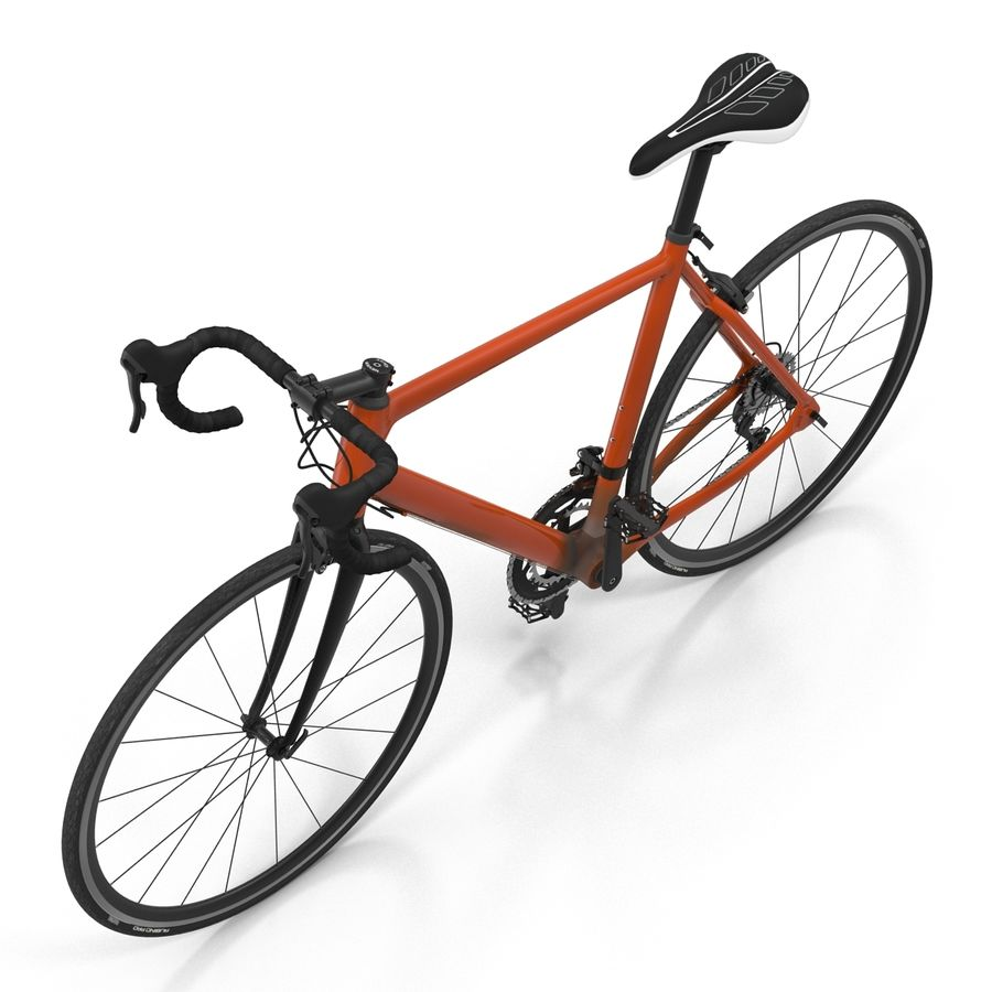 Road Bike Generic royalty-free 3d model - Preview no. 14