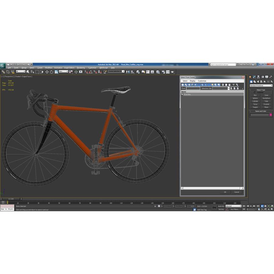 Road Bike Generic royalty-free 3d model - Preview no. 39