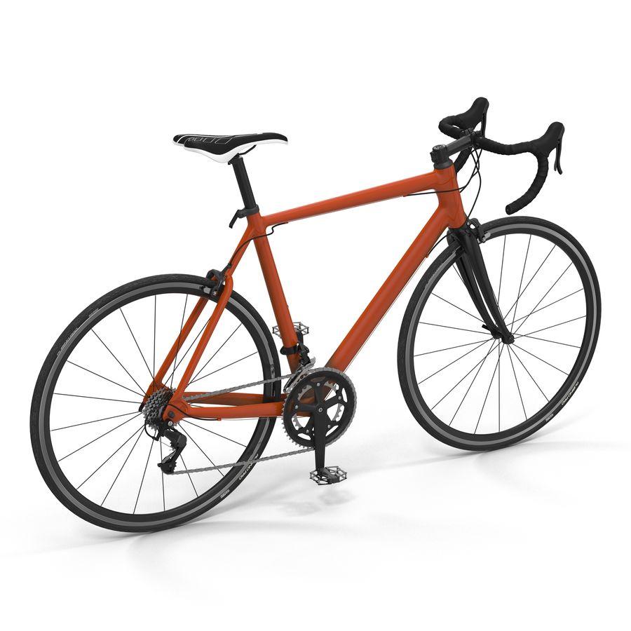 Road Bike Generic royalty-free 3d model - Preview no. 2