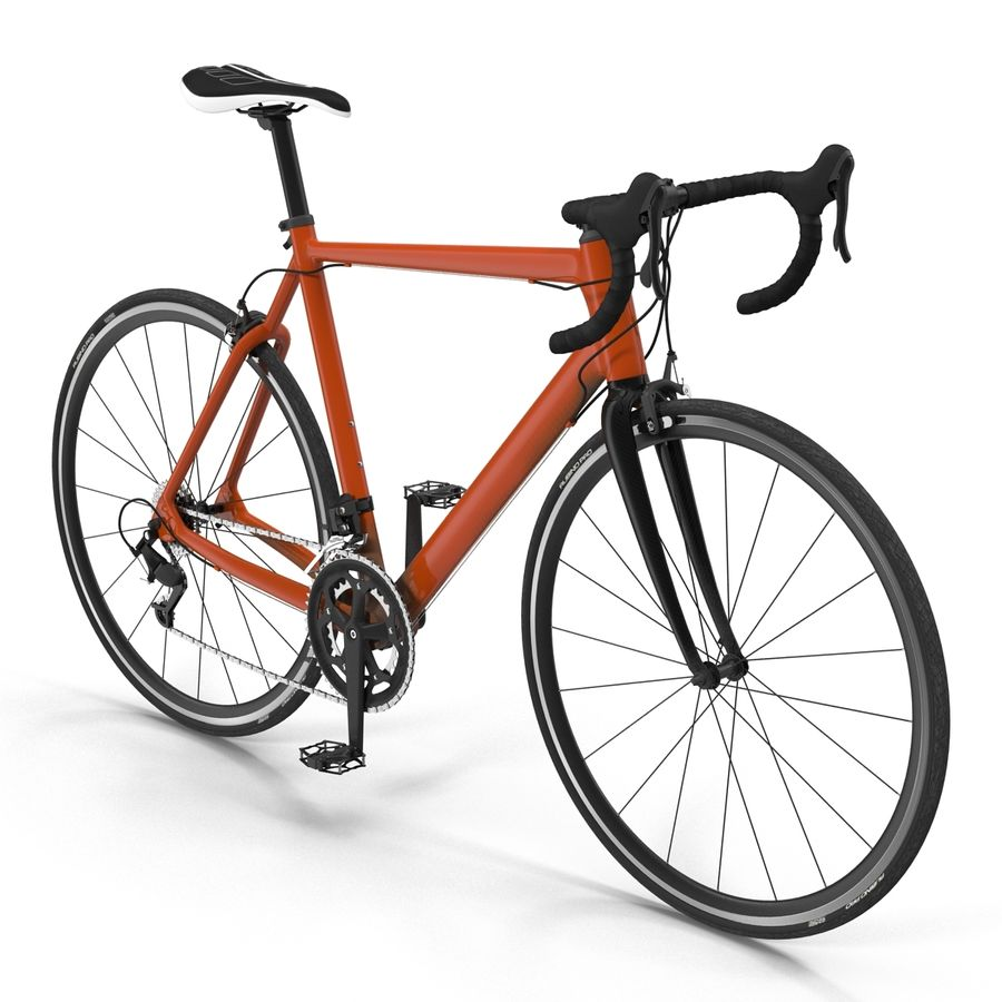 Road Bike Generic royalty-free 3d model - Preview no. 6