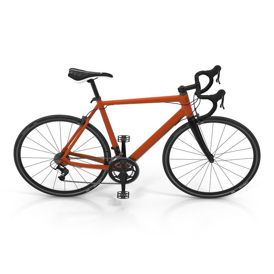 Road Bike Generic royalty-free 3d model - Preview no. 11
