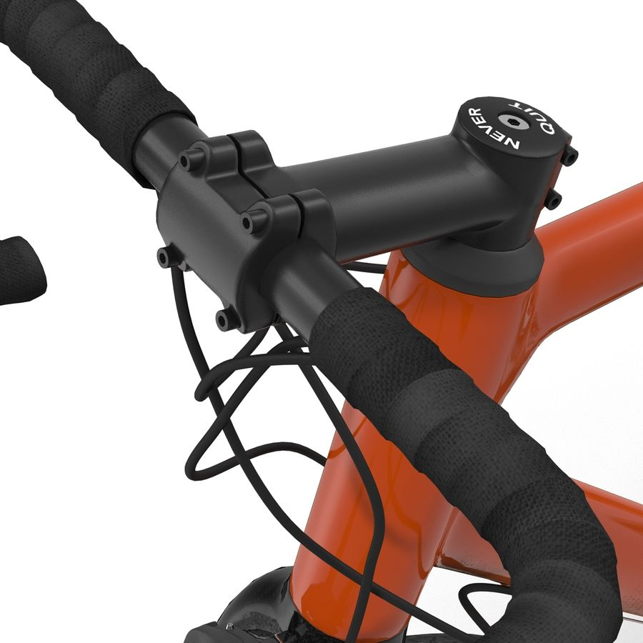 Road Bike Generic royalty-free 3d model - Preview no. 30