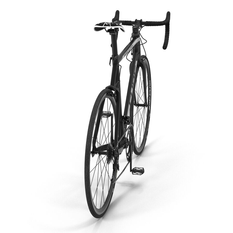 Road Bike Cube royalty-free 3d model - Preview no. 12