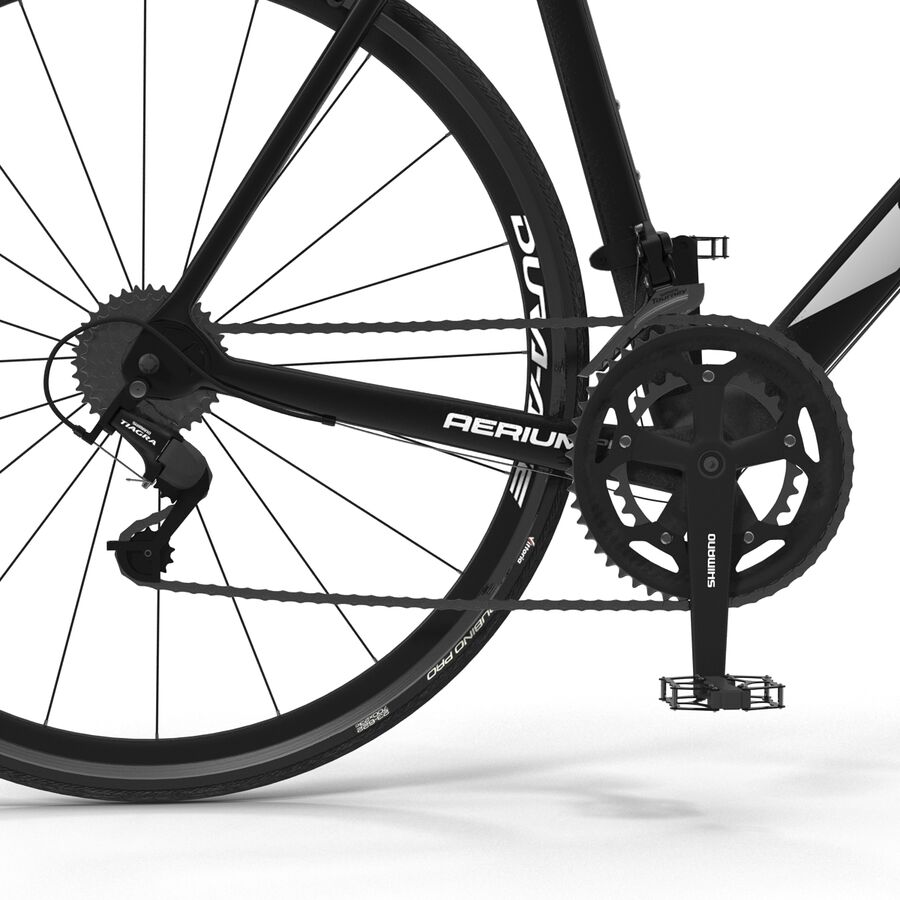 Road Bike Cube royalty-free 3d model - Preview no. 22