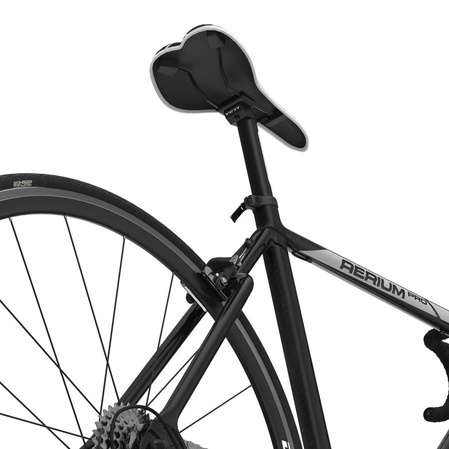 Road Bike Cube royalty-free 3d model - Preview no. 26