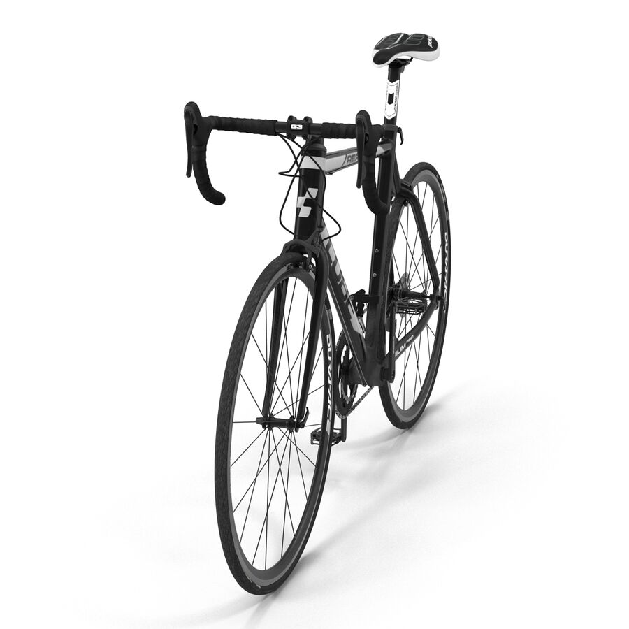 Road Bike Cube royalty-free 3d model - Preview no. 13