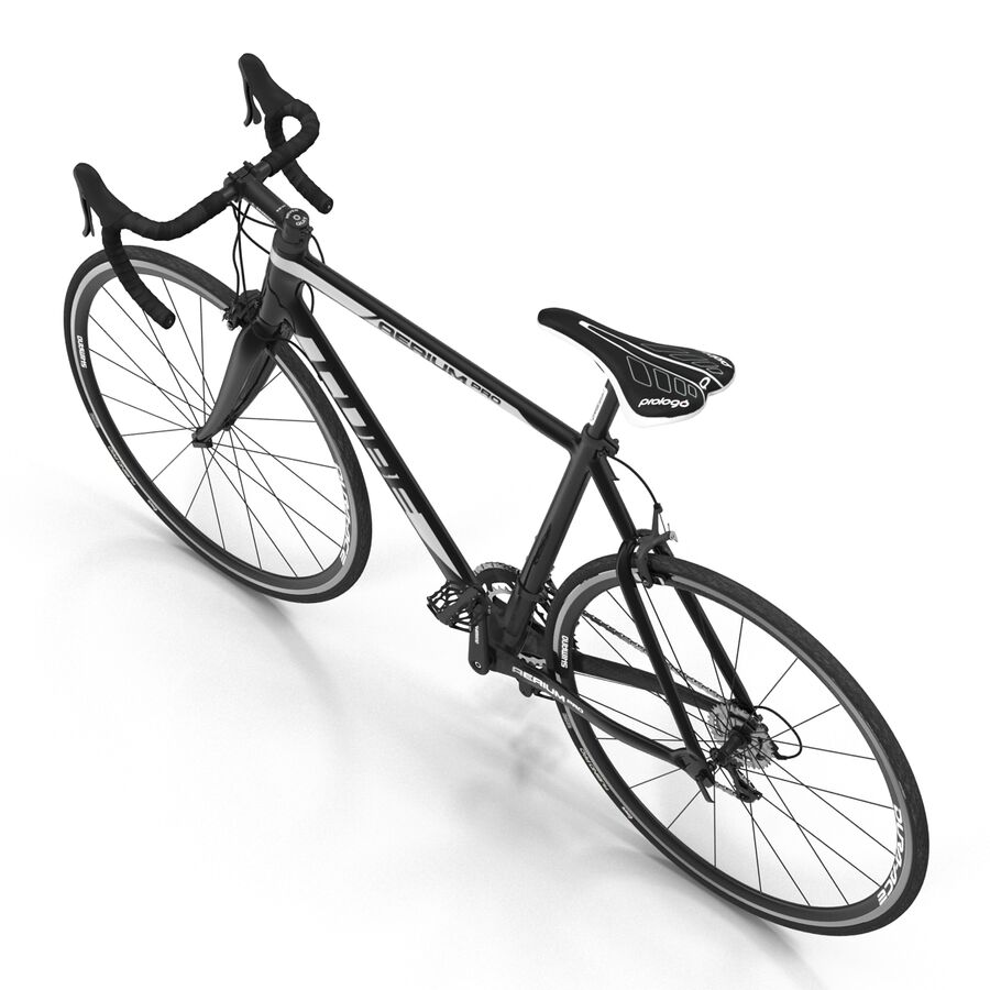 Road Bike Cube royalty-free 3d model - Preview no. 15