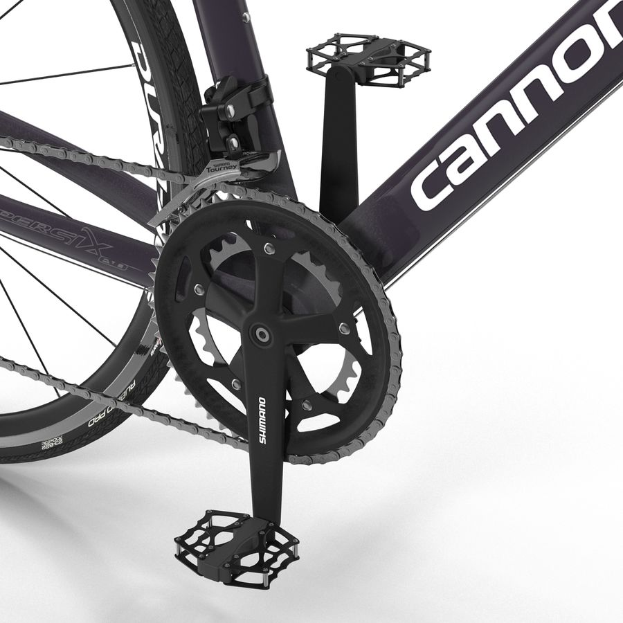 Road Bike Cannondale royalty-free 3d model - Preview no. 27
