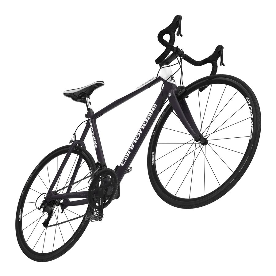 Road Bike Cannondale royalty-free 3d model - Preview no. 16