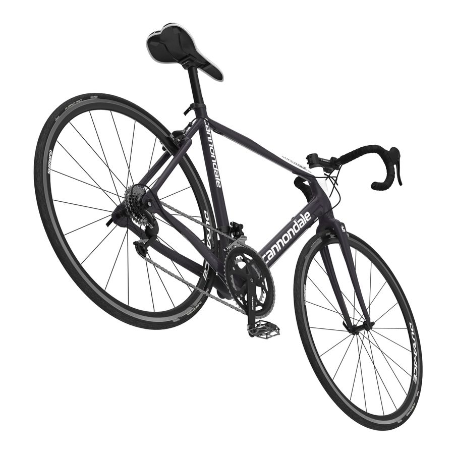 Road Bike Cannondale royalty-free 3d model - Preview no. 17