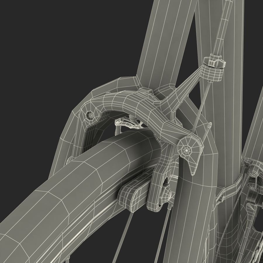 Road Bike Cannondale royalty-free 3d model - Preview no. 54