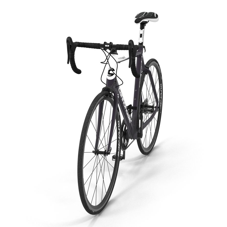 Road Bike Cannondale royalty-free 3d model - Preview no. 12