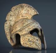 ギリシャのヘルメット 3d model