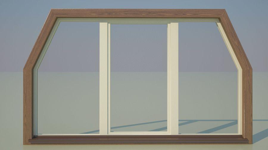 Okno 3 zewnętrzne royalty-free 3d model - Preview no. 1