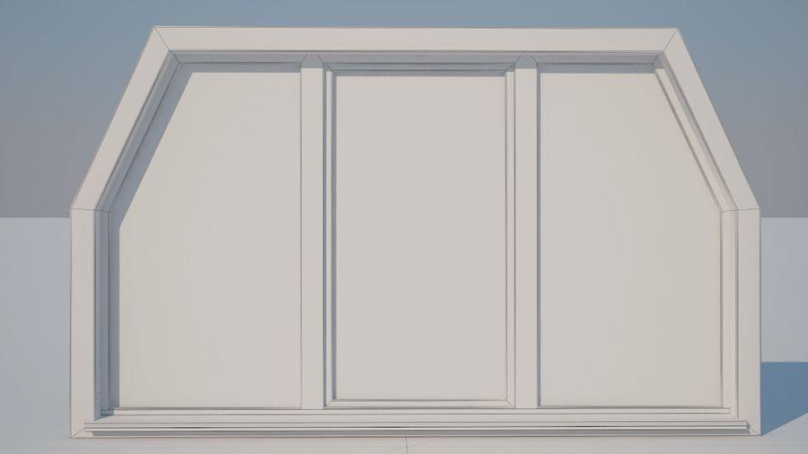 Okno 3 zewnętrzne royalty-free 3d model - Preview no. 2
