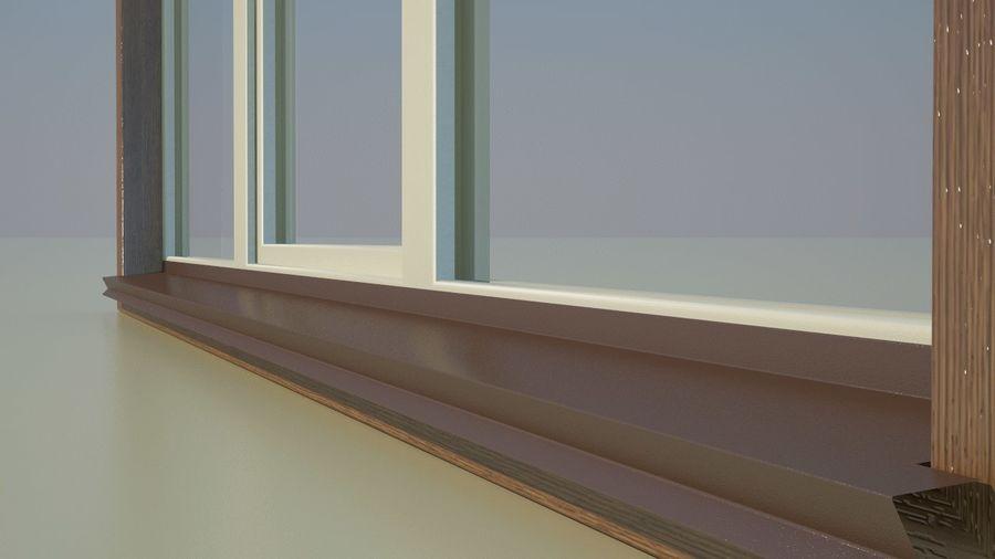 Okno 3 zewnętrzne royalty-free 3d model - Preview no. 5