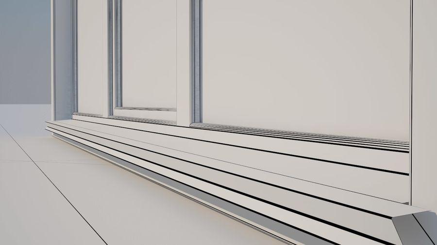 Okno 3 zewnętrzne royalty-free 3d model - Preview no. 6