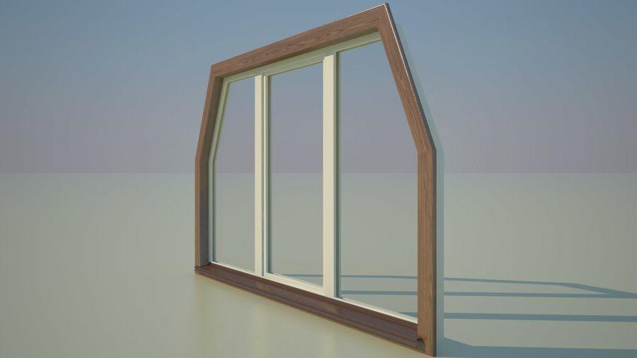 Okno 3 zewnętrzne royalty-free 3d model - Preview no. 3