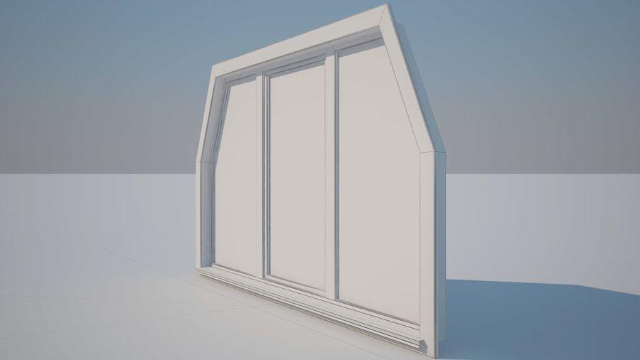 Okno 3 zewnętrzne royalty-free 3d model - Preview no. 4