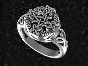 Keltischer Ring 3d model