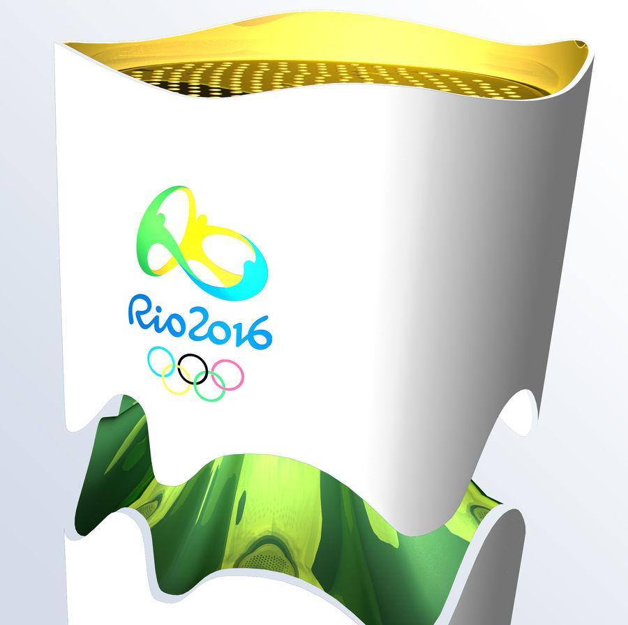 2016年火炬巴西奥运会 royalty-free 3d model - Preview no. 3