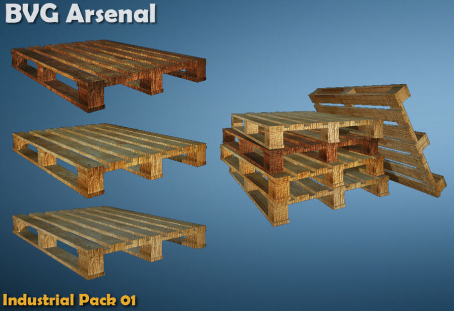 Paquete industrial royalty-free modelo 3d - Preview no. 4